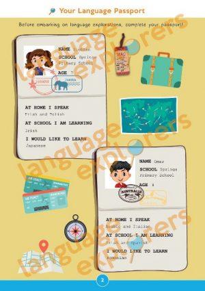 Language Explorers activity book
